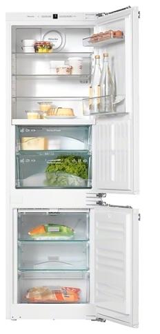 Холодильник Miele KFN 37282 iD, холодильник с морозильником, встраиваемый, двухкамерный